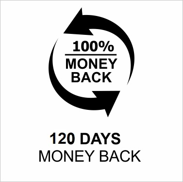 120 Days money back